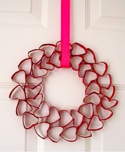 Valentine's Heart Wreath