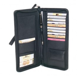 Mens leather wallets can hold almost anything!