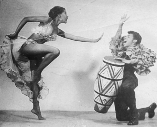 Nana Camille Yarbrough's early days in dance where she trained under the legendary, Katherine Dunham and the Duham Technique.