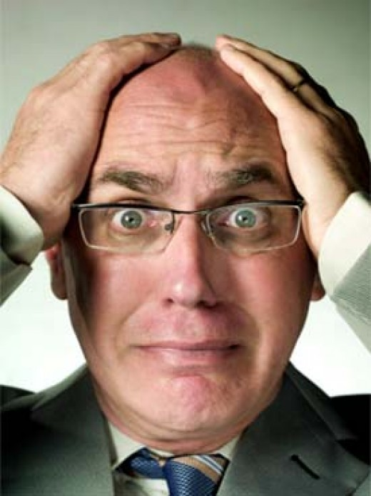 Don't worry that you're going bald! Hair growth products can help!