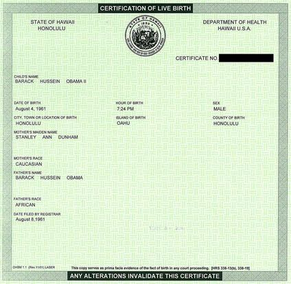 In case you haven't gotten your birth certificate lately, this is what most states give you.