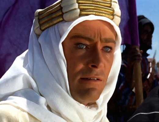 """Peter O'Toole as """"Lawrence of Arabia"""" released in 1962."""