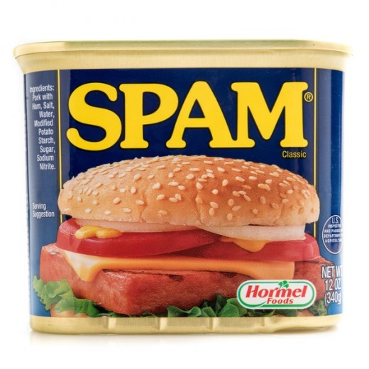 In 2007, the seven billionth can of Spam was sold.
