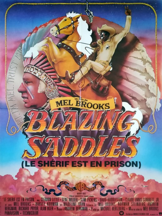 Blazing Saddles, a western comedy. Dry witty humor just like Hot Shots. #blazingsaddles