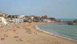 Viking Beach and Jetty, Broadstairs:  Nice place to grow up.