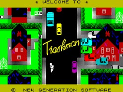 ZX Spectrum Game Trashman