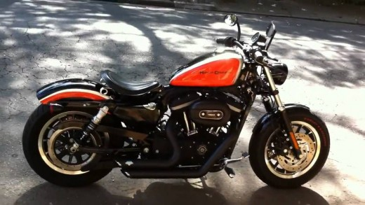 The 'Harley' - Harley Davidson,XL 1200 cc 'Sportster', worth trying for, but not available in free competitions in Motor Cycle News!