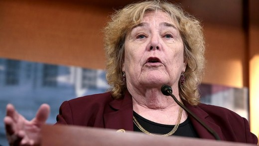 US Representative Zoe Lofgren (D-CA)