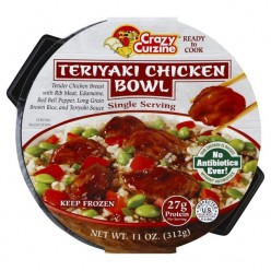 Crazy Cuizine Teriyaki Chicken Bowls: a Review