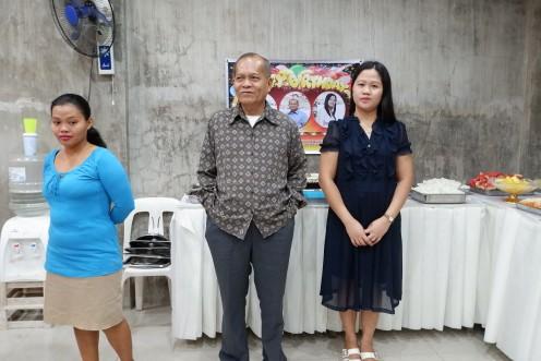 Three Birthday celebrants last January 2019.