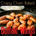Crispy Oven Baked Buffalo-style Chicken Wings