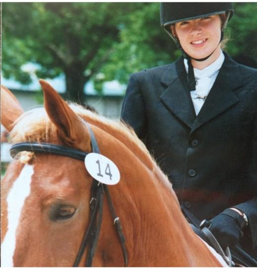 My first horse, Troy-Boy, a Beglian/TB cross