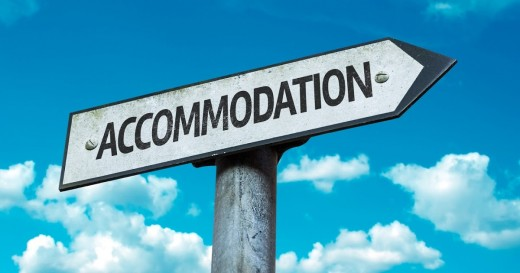 To save money, compare the room prices at several booking websites.