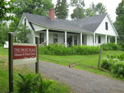 Former home of poet Robert Frost in Franconia, NH.