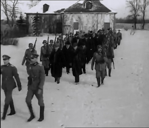 Prominent Canadian Citizens Rounded Up and Being Sent to Internment Camps By the Nazis