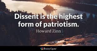 Dissent and Patriotism