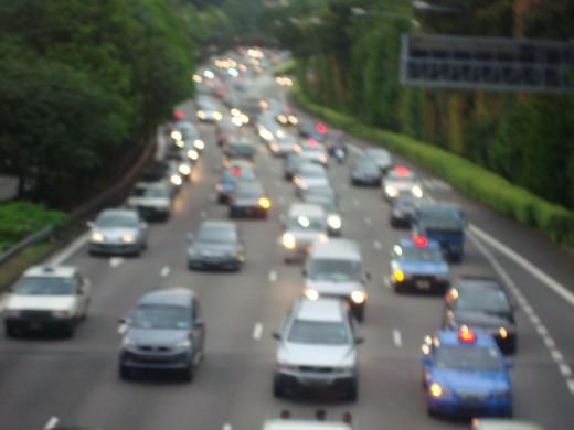 Highway Traffic, Singapore