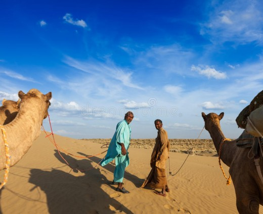 Desert Travelers