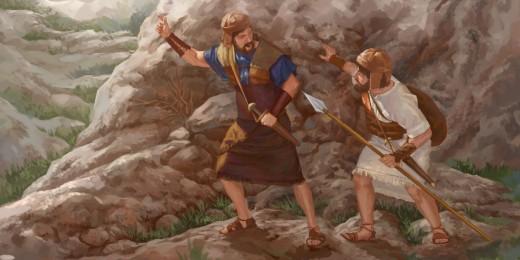 Jonathan and armor bearer