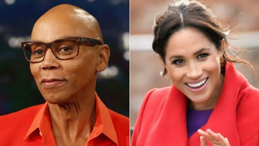 RuPaul and Meghan Markle