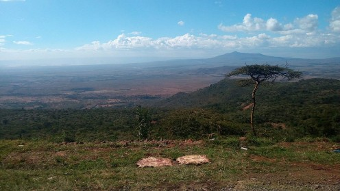 The Great Rift Valley in Africa