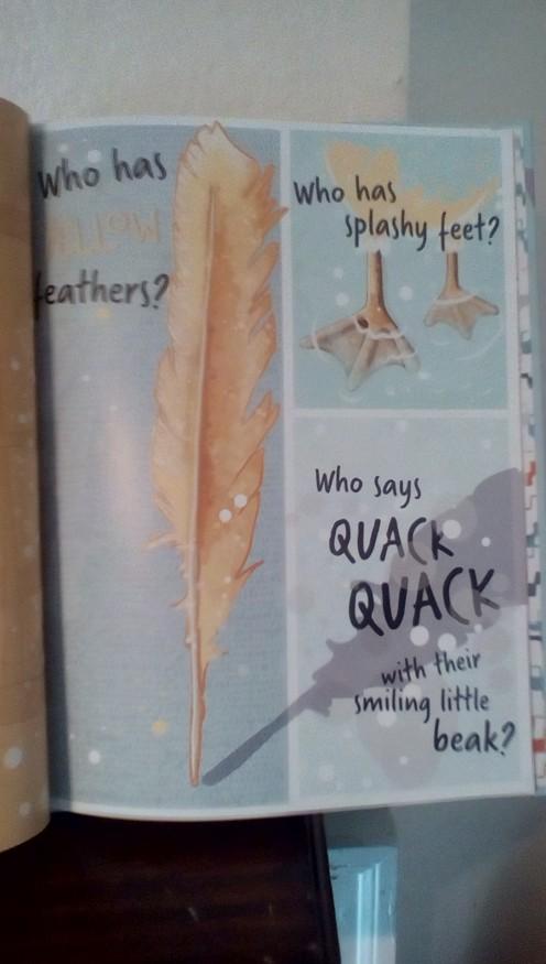 """what says """"quack""""?"""