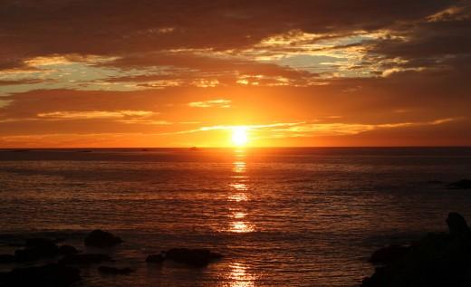 Sunrise...or.... sunset?