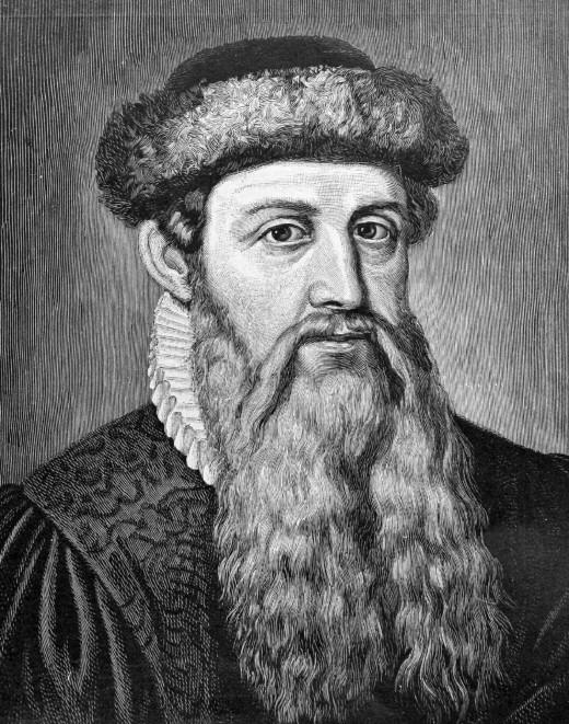 Johann Gensfleich zum Gutenberg