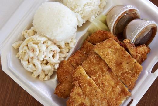 A Katsu Lunch Plate