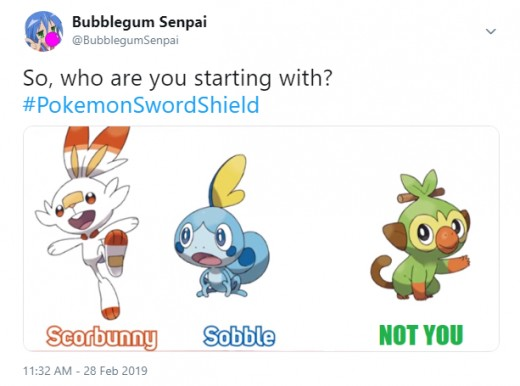 Me, summing up the starters in a tweet.