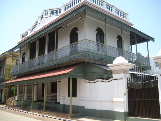 Franco-Tamil Style House