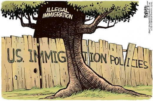U.S. Immigration Policies Blatantly Violated by Illegal Immigration