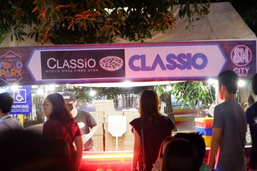 Classio is one of the pizzeria in my city where their pizza are cooked in a wood fired oven.