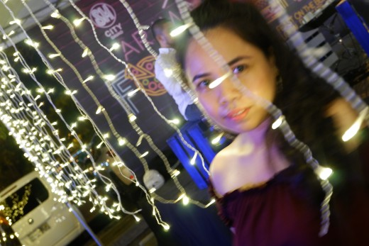 Blurry but I like it! hahaha