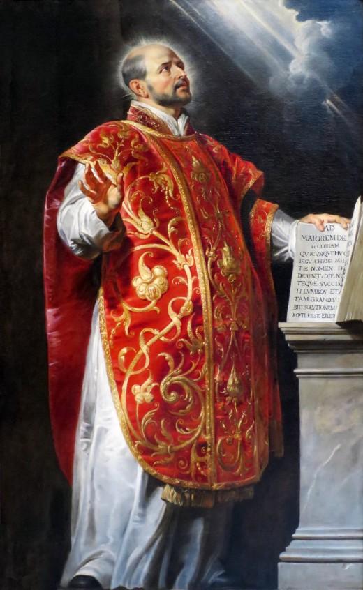 St. Ignatius of Loyola, by Rubens