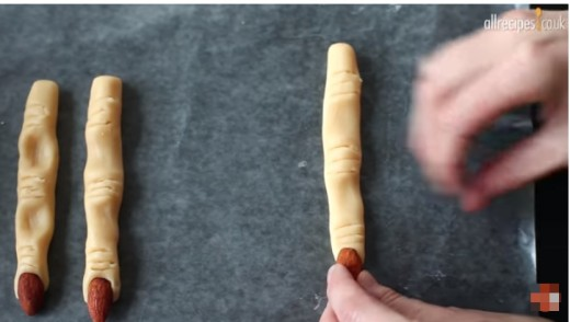 Spooky Witch's Fingers YouTube Screenshot