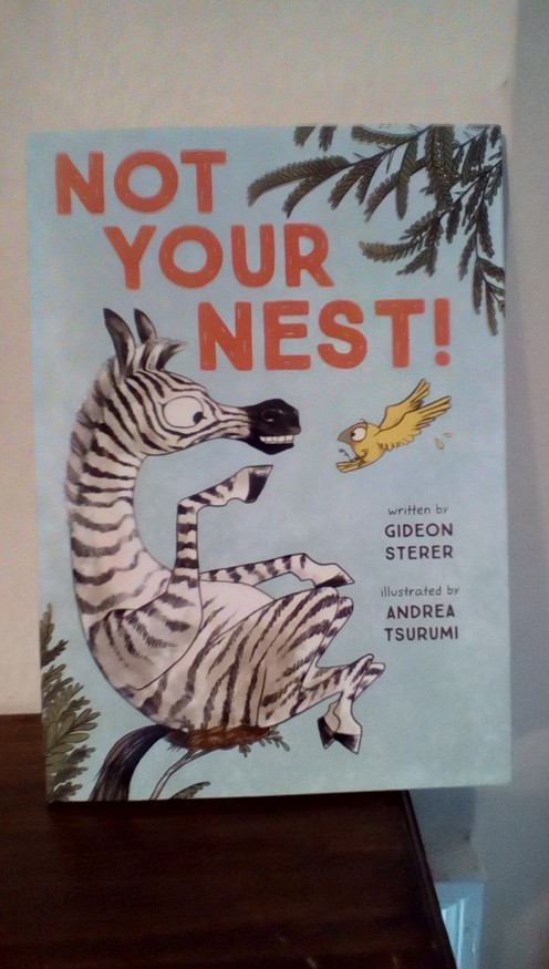 Hilarious picture book with a great lesson on sharing and making friends
