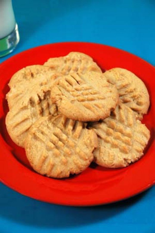 Making Peanut Butter cookies from peanut butter is one of the best things to do with peanut butter ever.