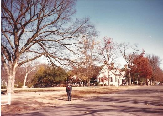 Colonial Williamsburg, November 1987