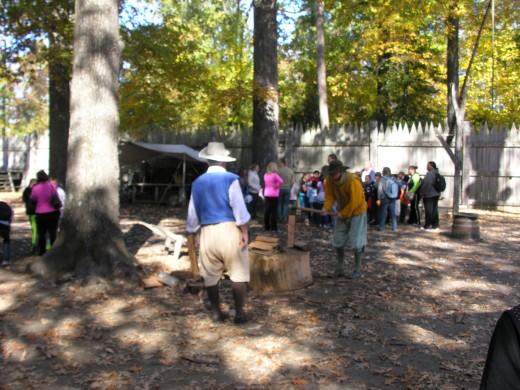 Jamestown Settlement, Novermber 2014.