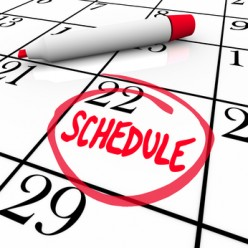 The Unstoppable Magic of Writing Down a Daily Schedule