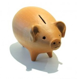 Piggy bank, a glass jar, or a bank account: start saving today.