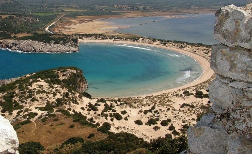 Beach on the Peloponnese