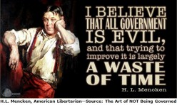 Libertarians and the Root of All Evil