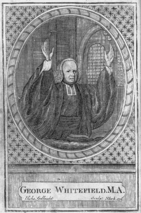 George Whitefield United States Library of Congress's Prints and Photographs division under the digital ID cph.3a45700