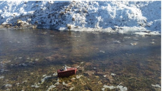 Can you picture it with a boat and a taller snowbank? I have added a boat I made.