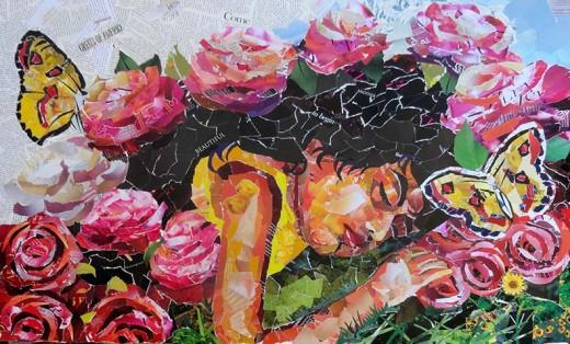 Collage of Sleeping Beauty
