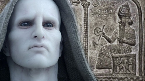 The plot of Prometheus is based on the theory of the Annunanki