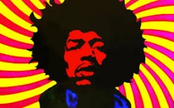 Jimi Hendrix a real voodoo Child!
