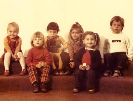 Little Beto O'Rourke, long before he began a political career.